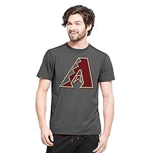 MLB Arizona Diamondbacks Men's '47 High Point Tee, Small, Shift Black