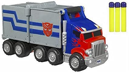Hasbro Transformers Optimus Prime Battle Rig Blaster