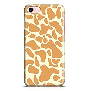 iPhone 8 Plus Case Animal Giraffe Print New Metal Inforced Wrap Around iPhone 8 Plus Cover