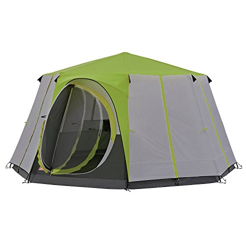 Coleman Tent Cortes Octagon, 6 to 8 man Festival tent, large Dome Tent with...