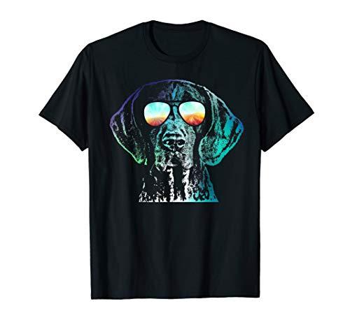German Shorthaired Pointer Neon Dog Shirt