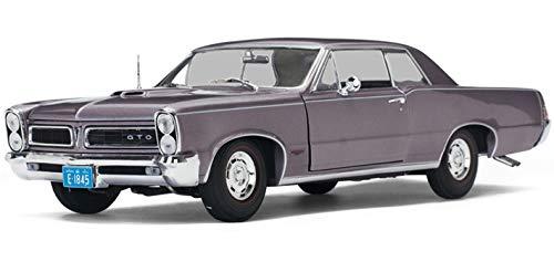 Mist Iris (1965 Pontiac GTO Iris Mist 1/18 Diecast Model Car by Sunstar 1845)