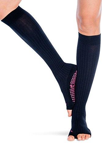 Tucketts Thigh Highs Knee High Yoga Socks Barre Toeless Long Socks for Pilates