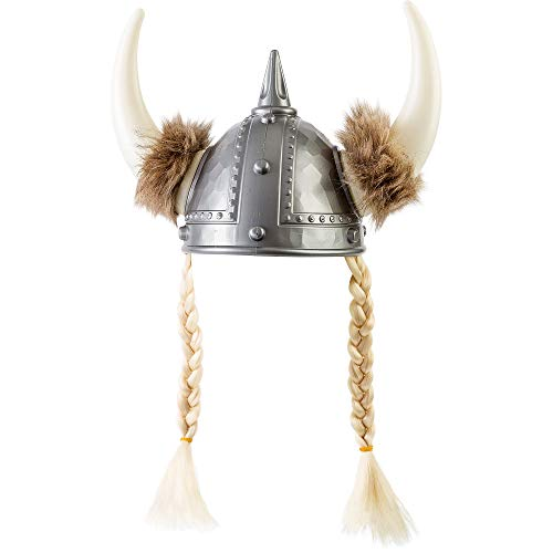AMSCAN Vixen Viking Hat Halloween Costume Accessories, One Size -
