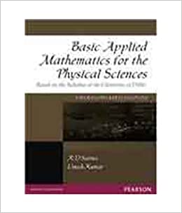 Buy Basic Applied Mathematics for the Physical Sciences