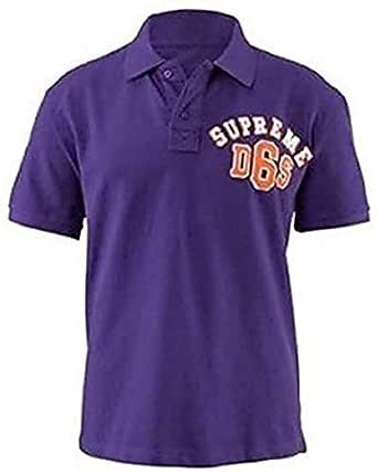 Camisa de polo de John Devin en púrpura - lila, morado, XS: Amazon ...