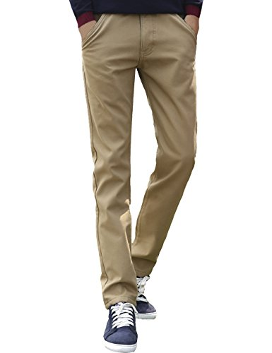 Menschwear Mens Winter Fleece Lined Heavyweight Pants Str...
