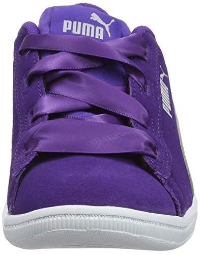 Niñas Puma Vikky Ribbon prism Para Violet Jr 03 Morado gray Zapatillas Violet nqXTFrwq