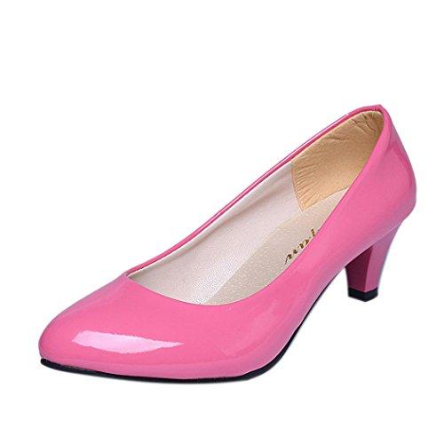کفش پاشنه بلند Inkach - کفش های گاه به گاه کفش کم عمق دهان و شوهر کلاسیک کار دفتر کفش های پاشنه بلند