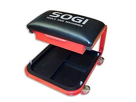 Sgabello officina carrello officina ideale per auto moto quad sogi