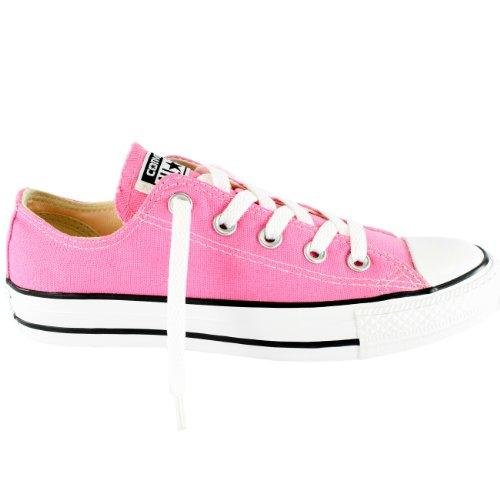 Converse Unisex Chuck Taylor All Star Low Top Sneakers -  Pink - 10.5 B(M) US Women / 8.5 D(M) US ()