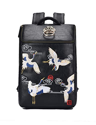 MM Design Backpack with Chinese Embroidery 15