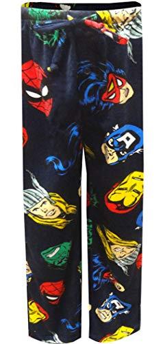 Marvel Men's Avengers Lounge Pants, Hero Blue, M