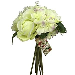 AB009-9 heads Bride Wedding Holding Bouquet 23