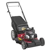 Yard Machines 12A-B2SD500 21-Inch FWD Self-Propelled Mower, Side Discharge/Mulch/Rear Bag