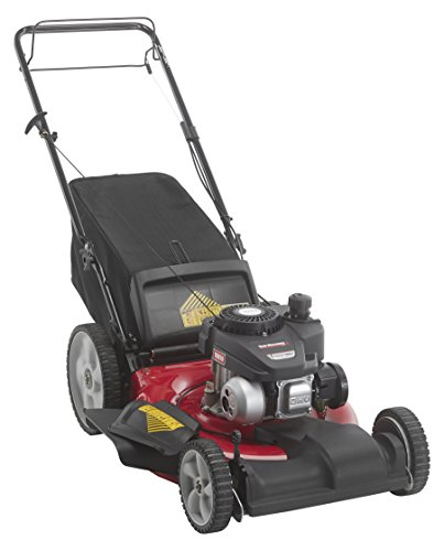 "Yard Machines 12A-B2SD500 21"" FWD Self-Propelled Mower, Side Discharge/Mulch/Rear Bag - 140cc PowerMore OHV"