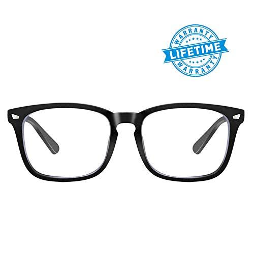 Blue Light Blocking Glasses Anti Eye Fatigue Reduce Headache Computer Reading Gaming Phones Eyeglasses UV Protection Eyewear ()
