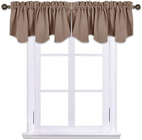 NICETOWN Blackout Valance Tier