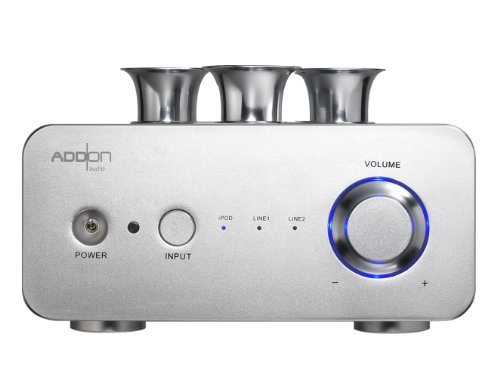 Add On Technology Co., Ltd. Amp_02 i-Concerto+LS-560 Vacuum Tube Amplifier for iPod/iPhone/iPad (Silver) Add On Technology Co., Ltd.