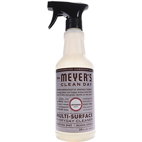 Mrs. Meyer's Multi-Surface Everyday Cleaner, Lavender, 16 oz Garden Tile Box
