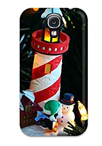 Tpu Case For Galaxy S4 With Holiday Christmas Sending Screen Protector in Free