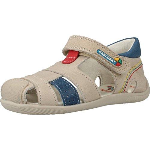 Sandalias y chanclas para ni�o, color Hueso , marca PABLOSKY, modelo Sandalias Y Chanclas Para Ni�o PABLOSKY GRAFITO Hueso Hueso