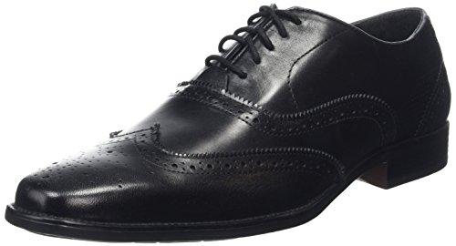 Hush Puppies Kayanza Palemeo, Zapatos De Vestir para Hombre Negro - negro