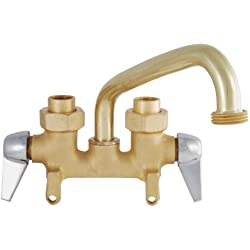 LDR 013 5300RB Laundry Faucet, Double Handle, Brass