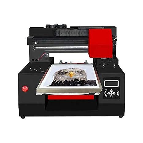Impresora Plana DTG UV de Doble Cabezal A3 RF-ZZ2 33 * 60 cm ...