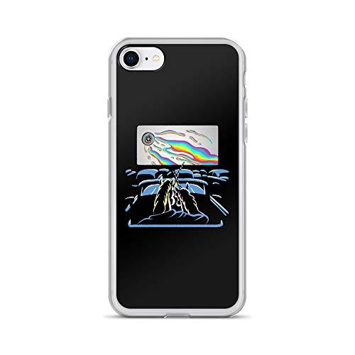 (iPhone 7/8 Case Anti-Scratch Phantasy Imagination Transparent Cases Cover Uniin Horror Night Fantasy Dream Crystal)