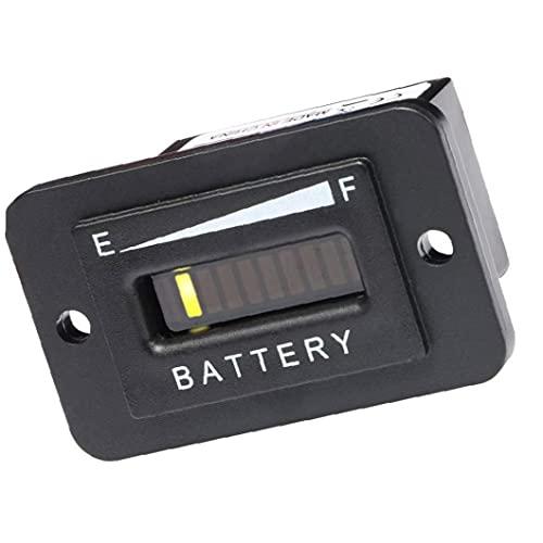 Batterij Indicator Capaciteit Tester Meter Tester Checker voor 48V lood-zuur Batterij Motorfiets Golf Cart Auto