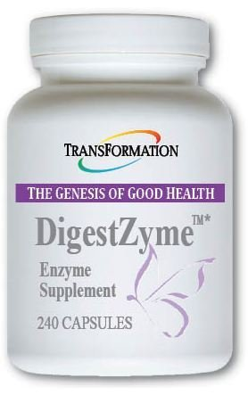 Transformation Enzyme DigestZyme 240 by TRANSFORMATION THE GENESIS OF GOOD HEALTH