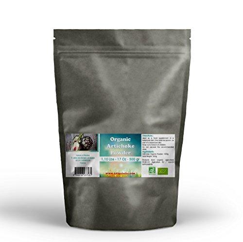 Powder Artichoke (Organic Artichoke Leaf Powder 17.6 Oz - 1.10 Lbs)