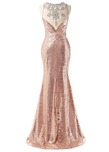 Ysmo - Vestido - para mujer rosa fucsia 46
