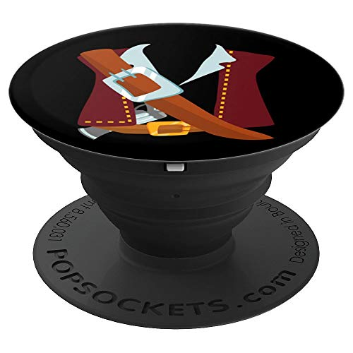 Swashbuckler Pirate Halloween Costume Party Last Minute Gift PopSockets Grip and Stand for Phones and Tablets]()