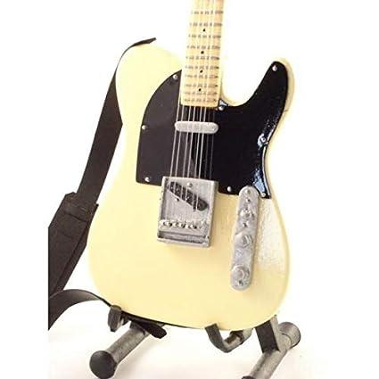 BRUCE SPRINGSTEEN - Replica FENDER TELECASTER - chitarra in miniatura mini guitar