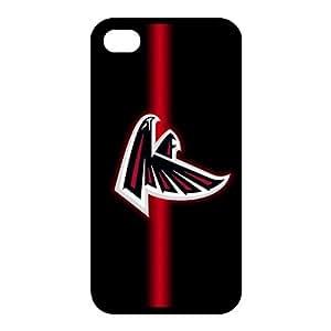 Custom Atlanta Falcons NFL Back Cover Case for iphone 4,4S JN4S-1202