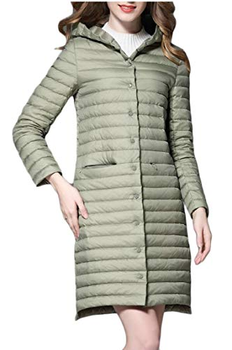 Coat Women's EKU 1 Weight Light Ultra Package Jacket Down Hooded TwdwCq8