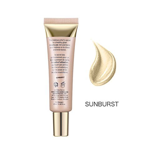 1Pc / 3Pcs Highlighter Cosmetic Highlighting Brightening Makeup Face High Highlight Cream(Sunburst)