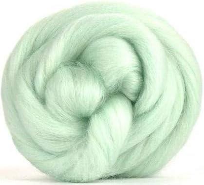 Fibras de paraíso de 4 oz de menta (verde) Corriedale Top Spinning ...