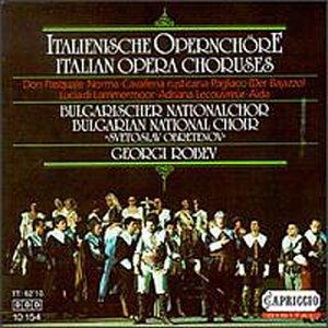 Donizetti Bellini Mascagni Leoncavallo Cilea Verdi: 'Italian Opera Choruses' From Don Pasq