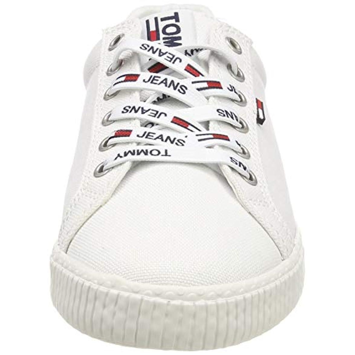 Hilfiger Denim Tommy Jeans Casual Sneaker Scarpe Da Ginnastica Basse Donna