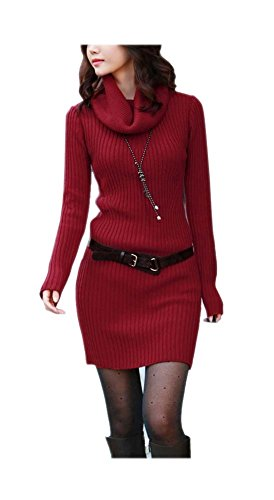 ARJOSA Womens Turtleneck Pullover Sweater