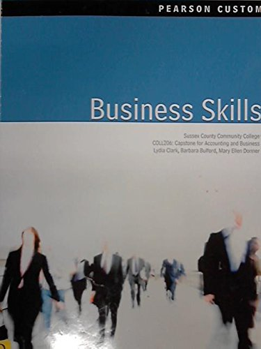Business Skills (Sussex County Community College COLL206: Capstone for Accounting and Business)