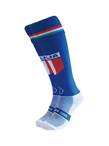 Wackysox Men's Classic Italy Socks Medium - Uk2 - 6 Multicoloured by WackySox