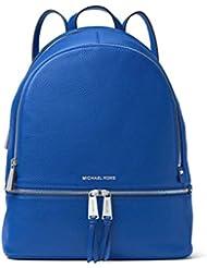 Michael Kors Womens Large Rhea Zip Leather Backpack