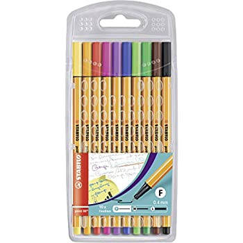 Amazon.com : Stabilo Point 88 Pastel, 8-Color Set : Office ...