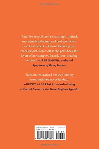 Nice Try, Jane Sinner: Amazon.es: Lianne Oelke: Libros en ...