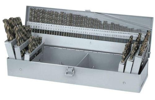 115 PC PIECE METAL COBALT FRACTIONAL DRILL INDEX BIT SET KIT FOR STEEL COLBALT