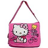 Hello Kitty Messenger Bag (Pink W/bear)
